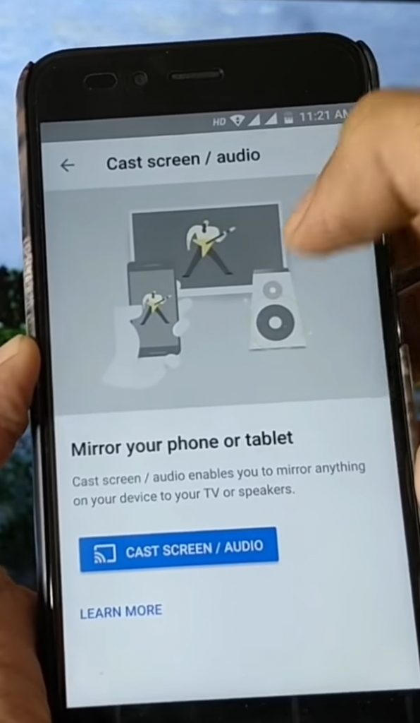 Steps to Mirror Android Screen to Non-Smart TV, WPFaqhub